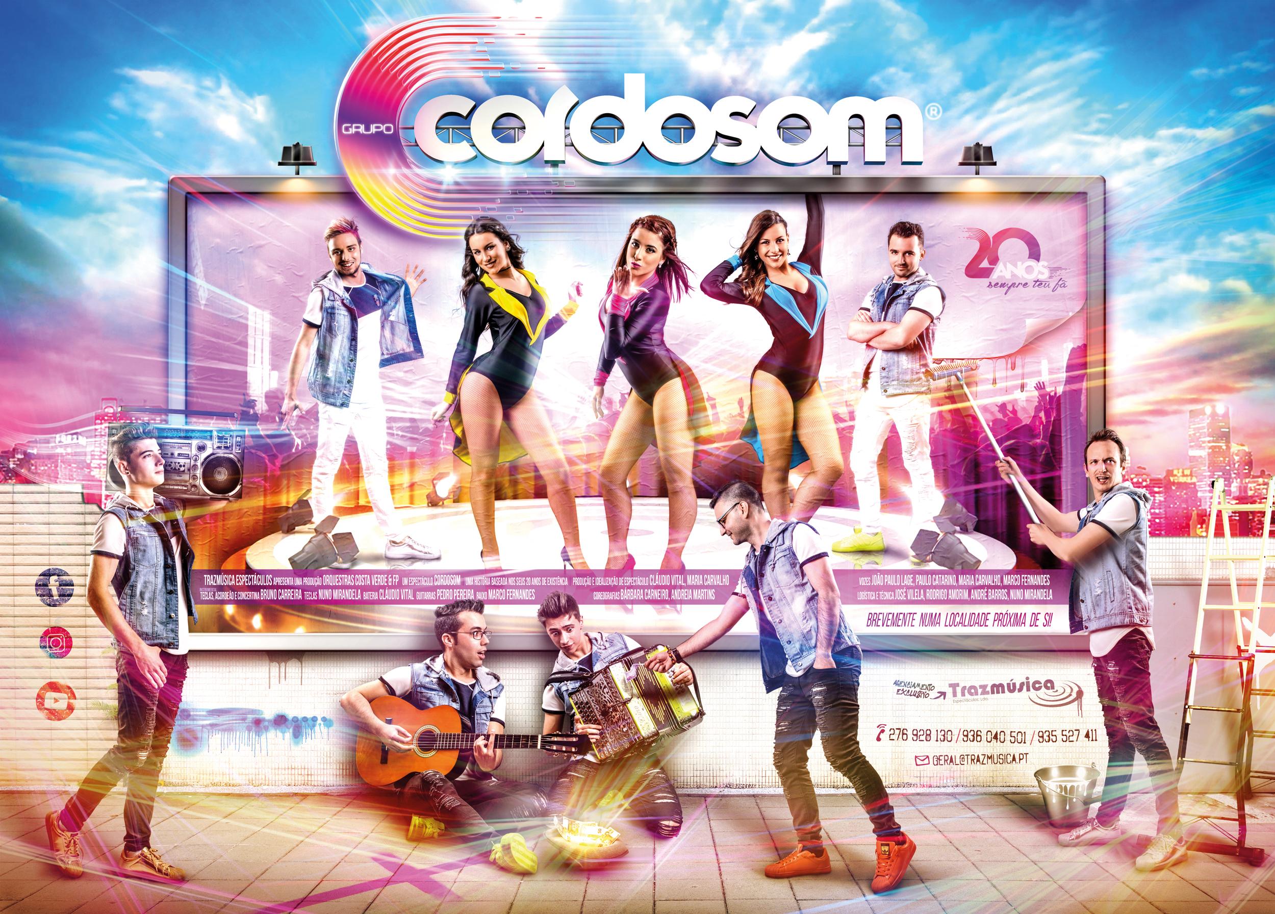 Cordosom - Apresentação da nova tour para 2017