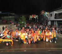 Cerva em festa com Costa Verde