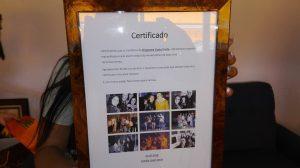 Certificado Costa Verde