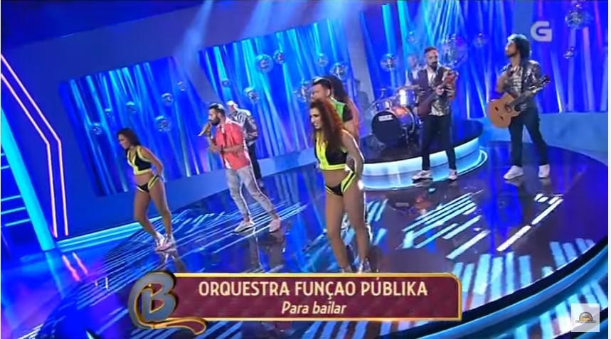 Função Públika - Em Bamboleo, programa da Tv Galicia
