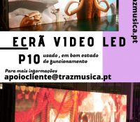 VENDA – ECRÃ VIDEO LED
